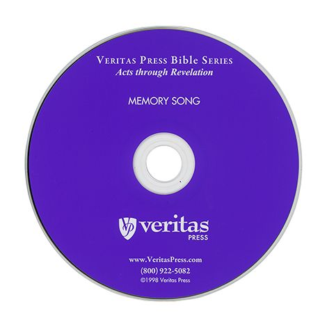 Acts to Revelation Memory Song CD