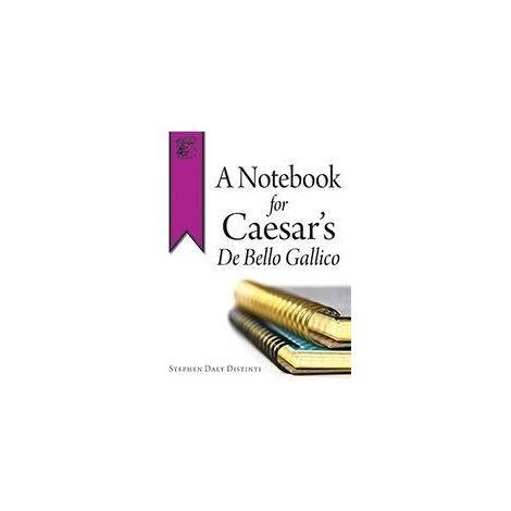 A Notebook for Caesar's De Bello Gallico