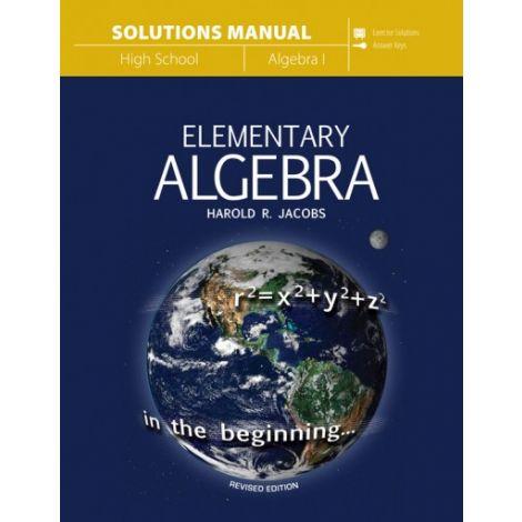 Elementary Algebra Solutions Manual