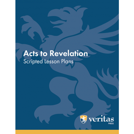 Bible - Acts to Revelation - Lesson Plans