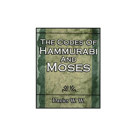 The Codes Of Hammurabi And Moses (1P)