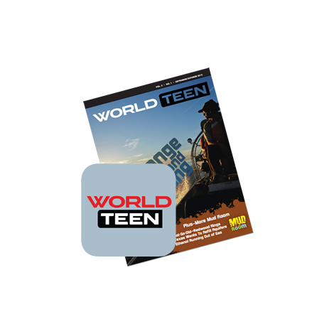 WORLDteen Magazine Annual Membership